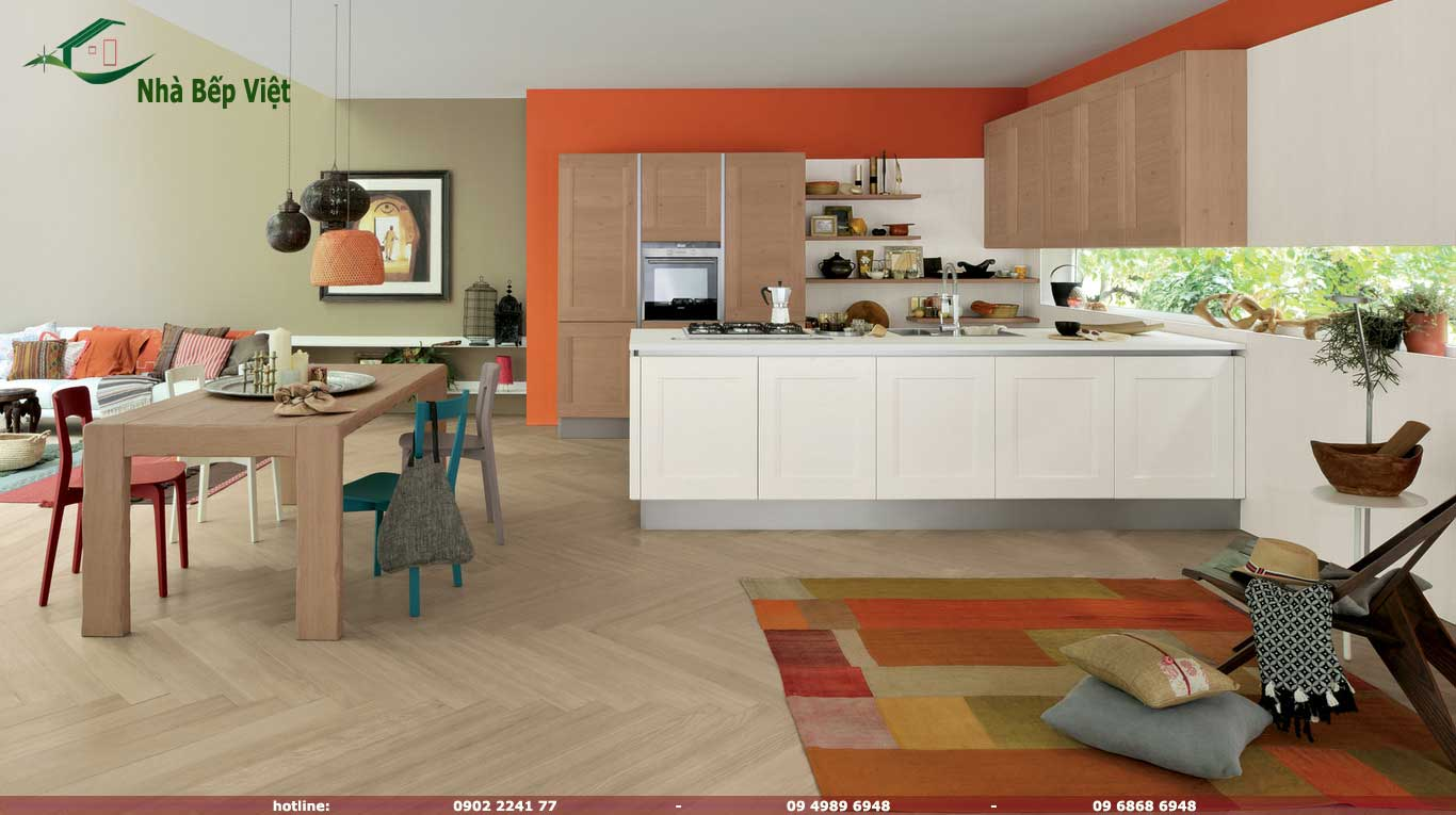 Tủ bếp Dialogo-Shellsystem