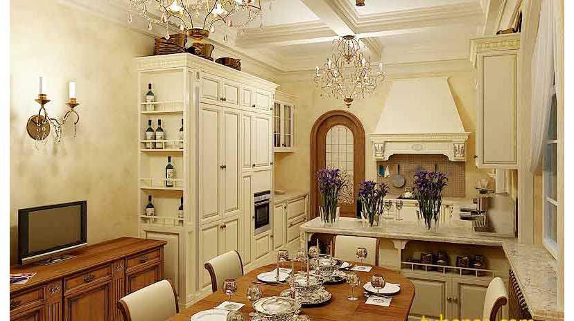 Tủ Bếp Cổ Điển Abbey | Tủ Bếp Cổ Điển Đẹp Nhất 2019