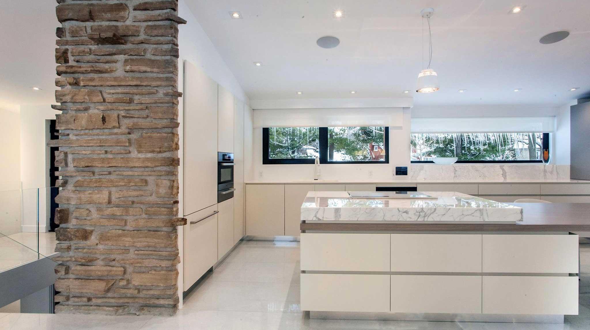 Tủ bếp acrylic zenolite