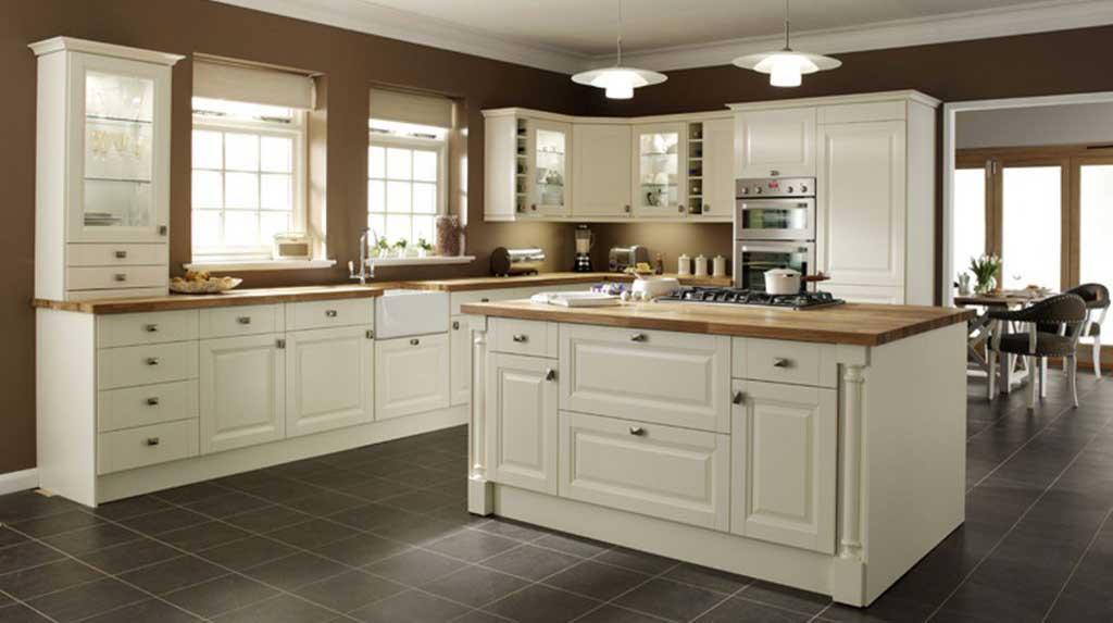 Tủ bếp tân cổ điển Aberfa