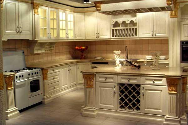 Tủ bếp cổ điển h