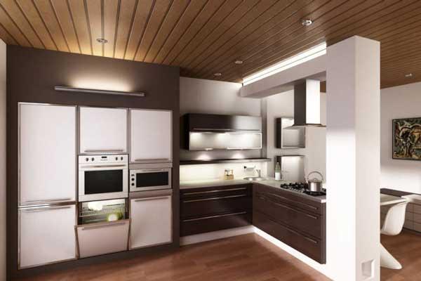 Tủ bếp gỗ công nghiệp cao cấp e