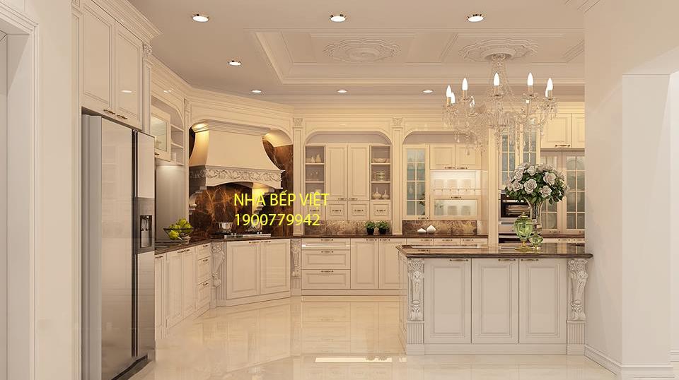 [Tủ bếp gỗ] Nhà Bếp Việt với hơn 100+ Mẫu tủ bếp gỗ đẹp cho không gian đẹp