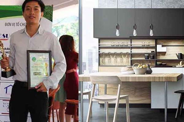 [Thi công tủ bếp] Nhận thi công lắp đặt tủ bếp giá rẻ TP.HCM