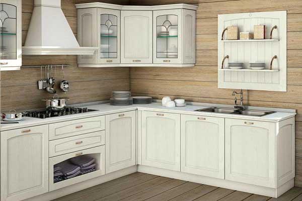 Tủ bếp gỗ dổi b