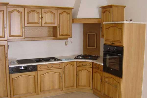 Tủ bếp gỗ pơ mu i
