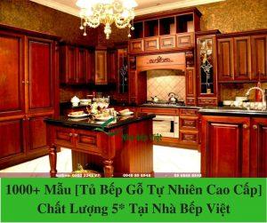 1000+ Mẫu [Tủ Bếp Gỗ Tự Nhiên Cao Cấp] Chất Lượng 5_ Tại Nhà Bếp Việt