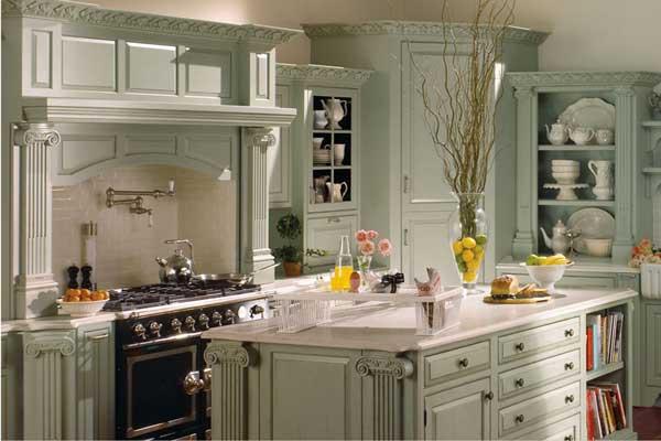 Tủ bếp có bàn đảo g