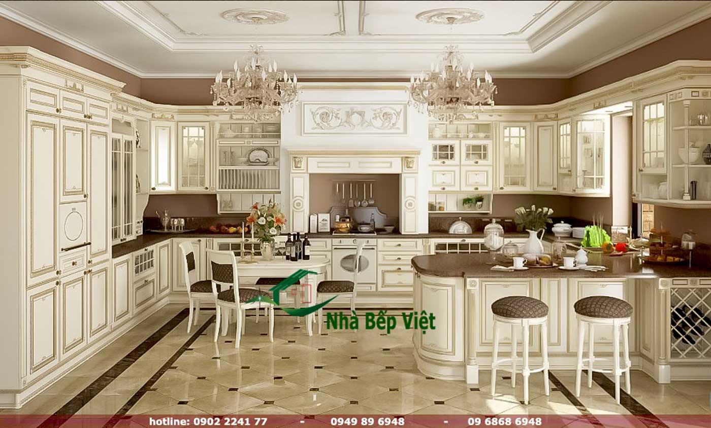 Tủ Bếp Cổ Điển (B)