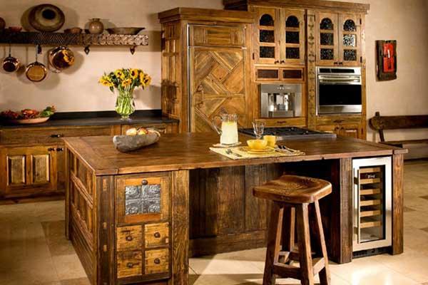 Tủ bếp cổ điển k
