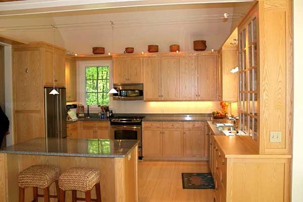 Tủ bếp gỗ ash a