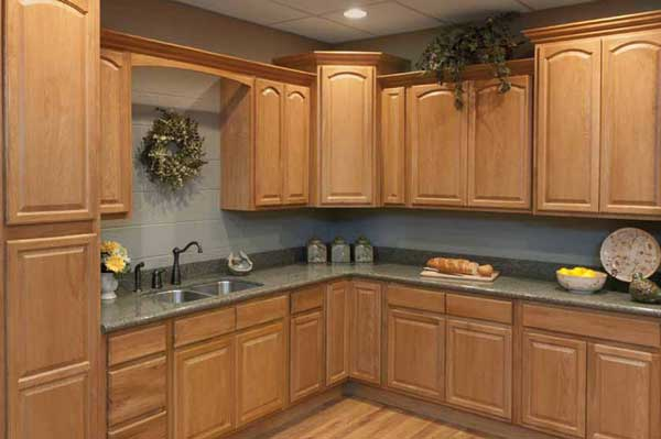 Tủ bếp gỗ Ash c