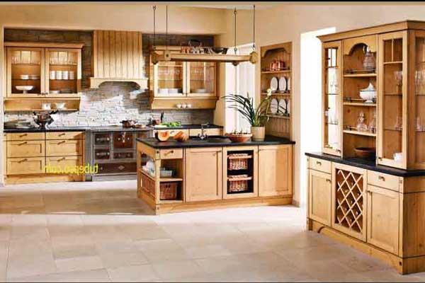 Tủ bếp gỗ Ash e
