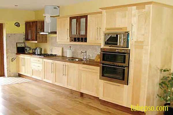 Tủ bếp gỗ Ash h