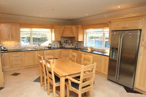 Tủ bếp gỗ Ash i