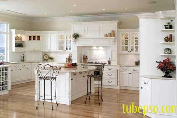 Tủ bếp gỗ Ash k