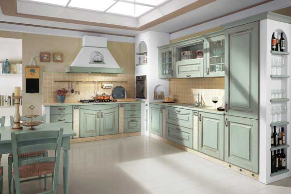 Tủ bếp gỗ dổi k