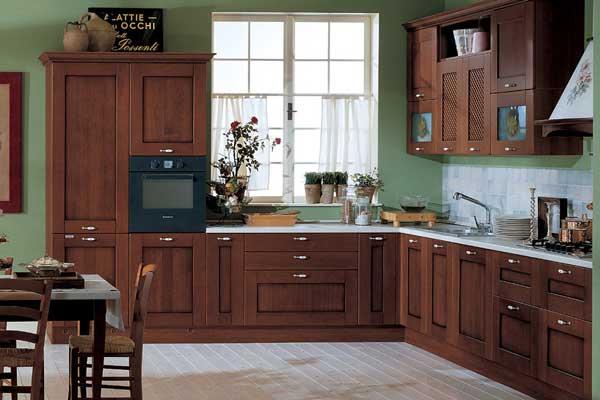 Tủ bếp gỗ việt c
