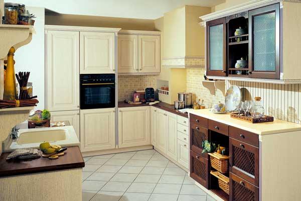 Tủ bếp gỗ việt d