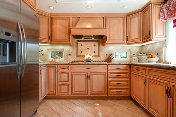 Tủ bếp gỗ việt e