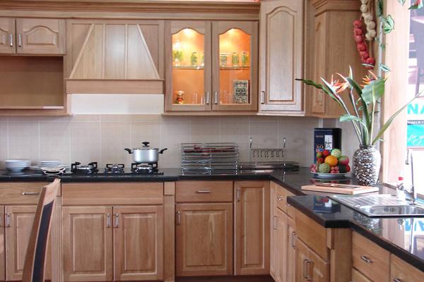 Tủ bếp gỗ việt k