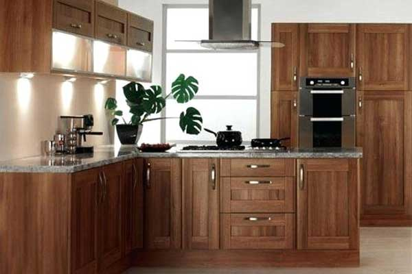 Tủ bếp gỗ walnut h