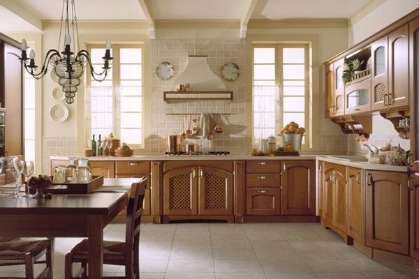 Tủ bếp gỗ xoan đào k