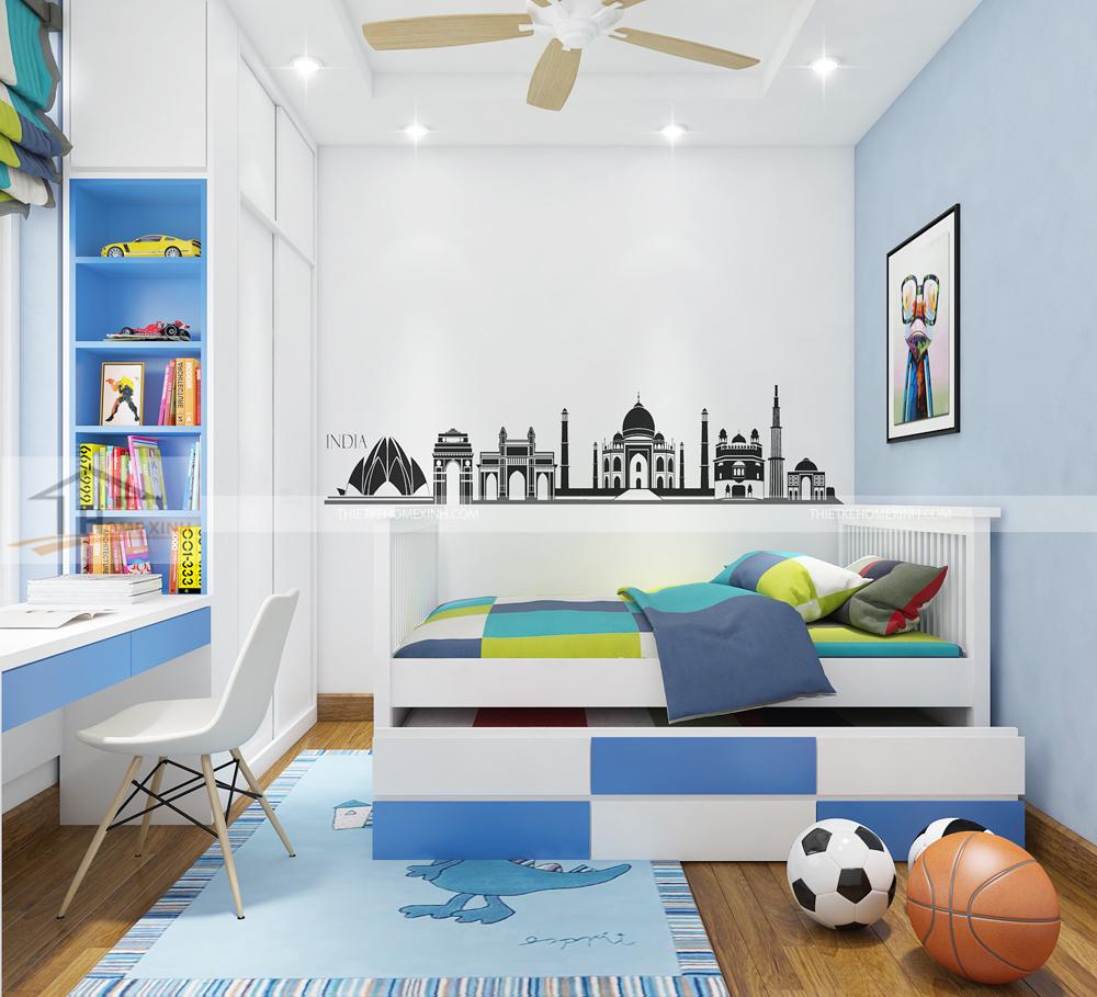 thiết-kế-phòng-ngủ-cho-bé-chung-cư-The-Manor-01