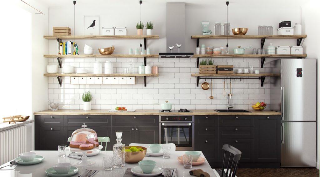 6 Điều Cần Biết Khi Thiết Kế Kệ Bếp Cho Căn Nhà Mới Xây Của Mình