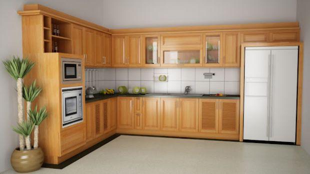 Hướng Dẫn Chọn Mua Tủ Bếp Gỗ Đẹp Hợp Với Phòng Bếp Nhà Bạn