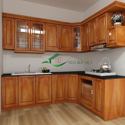 Mẫu Tủ Bếp Nhỏ Đẹp Xinh Xắn Cho Căn Nhà Đẹp 2019