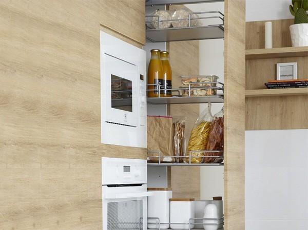 Không gian bếp khoa học, thông minh