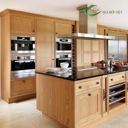 Mách bạn mẹo thiết kế và bảo quản mẫu tủ bếp gỗ đẹp tự nhiên