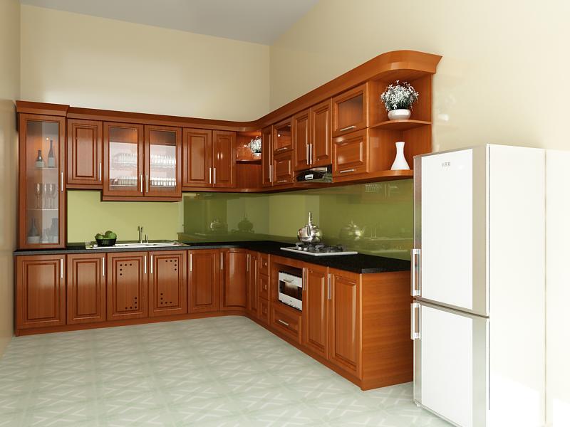 Những Loại Tủ Bếp Gỗ Đẹp Đang Được Ưa Chuộng Hiện Nay
