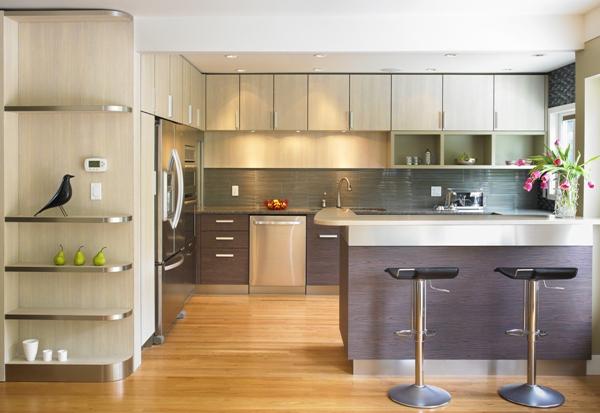 Đóng Tủ Bếp | Mẫu Tủ Bếp Gỗ Giá Rẻ Mới Nhất 2019