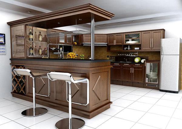 Đóng Tủ Bếp | Top 9 Mẫu Tủ Bếp Gỗ Đẹp Giá Rẻ