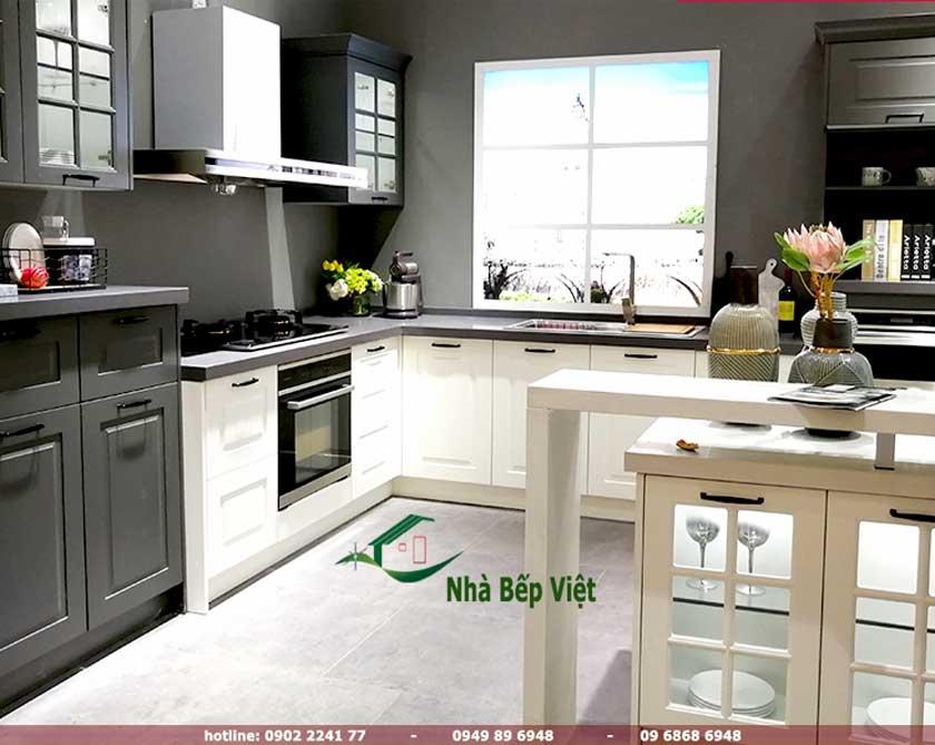 Các mẫu tủ bếp chữ l đẹp đang được nhiều người lựa chọn và tin dùng
