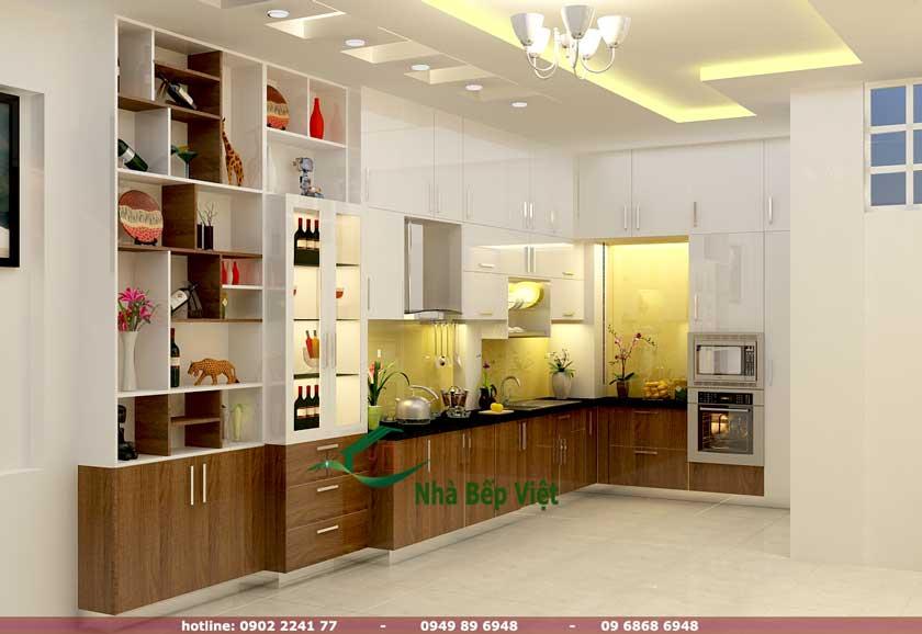 Các mẫu thiết kế tủ bếp chữ l đẹp, đơn giản cho ngôi nhà nhỏ của bạn