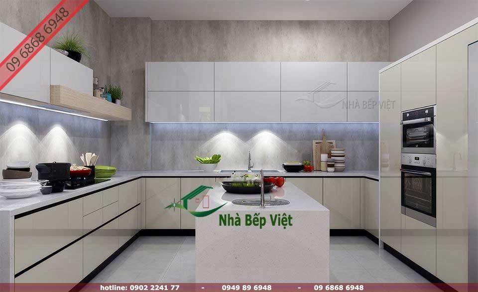 14. Các loại chất  liệu phổ biến để thi công tủ bếp tại Nha Trang hiện nay
