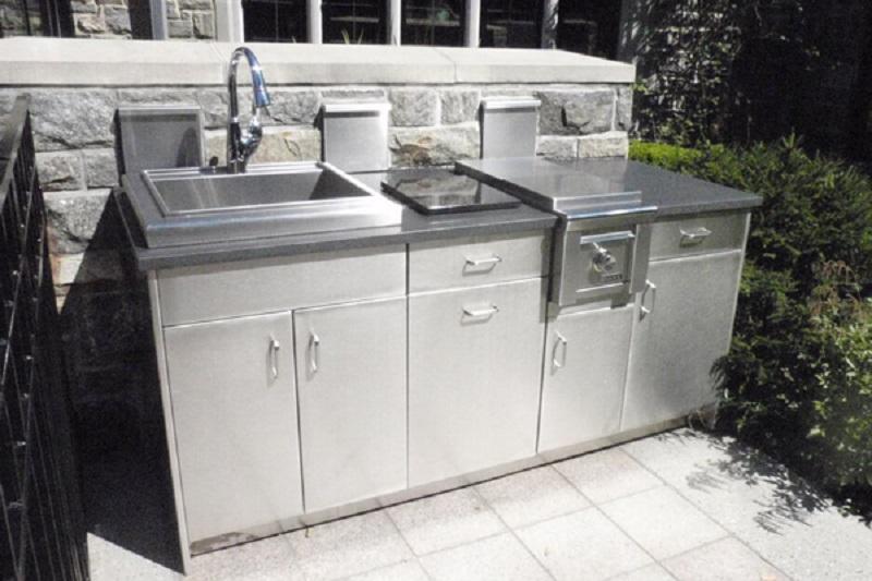 5 bước để thi công tủ bếp inox