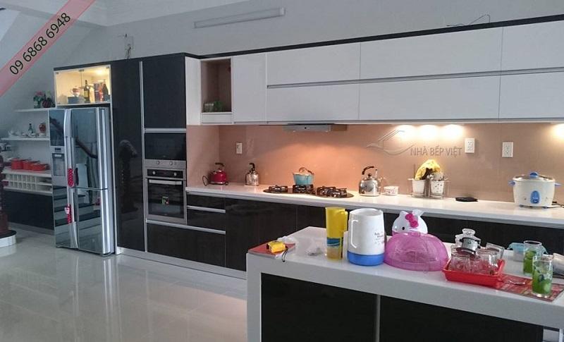 Tủ bếp bằng nhựa cao cấp 5 yếu tố khắc phục tuyệt vời