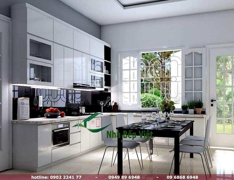 Có nên dùng tủ bếp nhựa và chọn bếp nhựa đúng cho căn bếp hiện đại