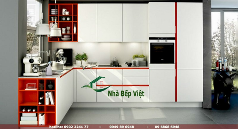 Địa chỉ chuyên thiết kế tủ bếp nhựa