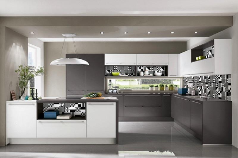 Tủ bếp bằng nhựa cao cấp 6 loại phổ biến