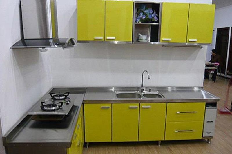Các mẫu tủ bếp inox đang là xu hướng năm 2019